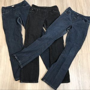 3 Pairs Contrast by Reitman's Jeans size 5